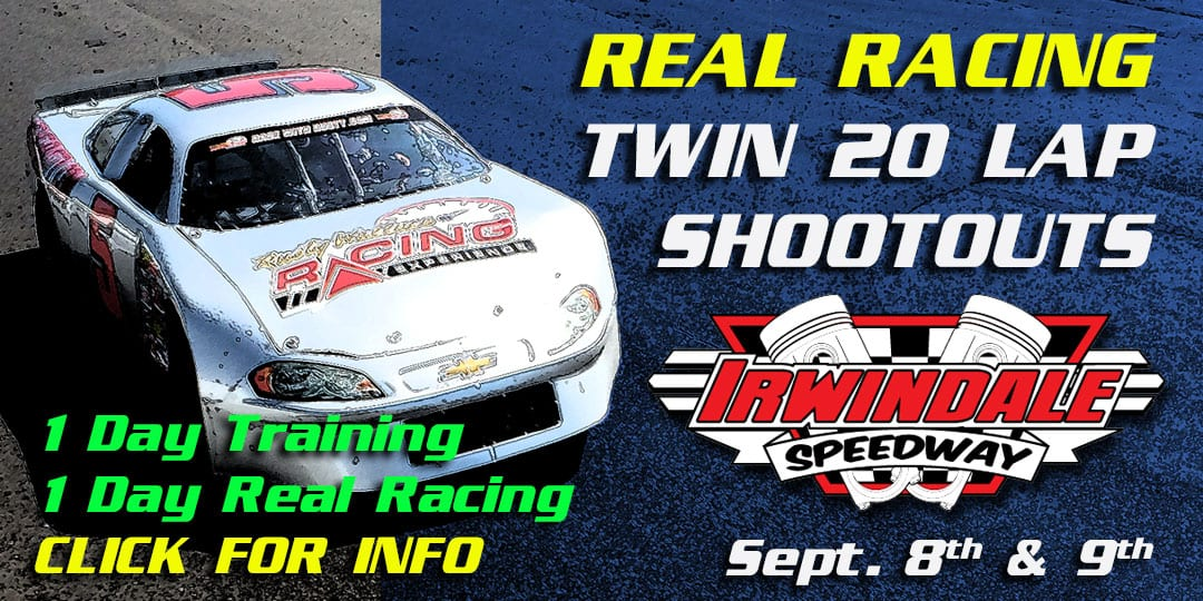 Real Race – 2 Day Event at Irwindale Speedway Sept. 8th & 9th