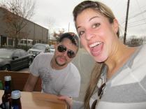 Rachael and Brandon four years