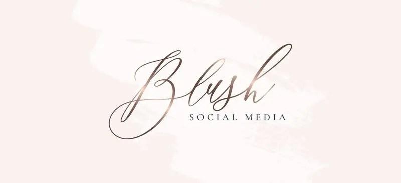 Blush Social Media Logo