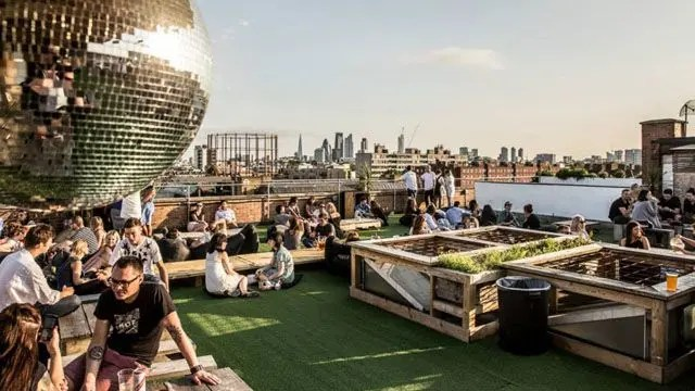 Netil 360 Rooftop Bar Restaurant London