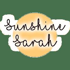 Sunshine Sarah Blogger