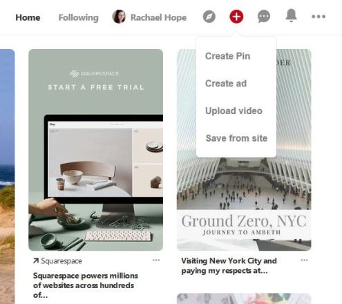 How to create a new Pin on Pinterest