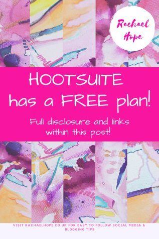 Within this post I will be sharing my first step into the realm of Hootsuite. Exact link to the free plan and screens to help with the sign up process included!!