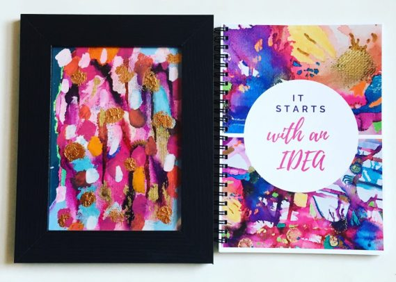 Bespoke Art Work for Sale. Awesome bullet journal and notebooks for bloggers, freelancers and students.