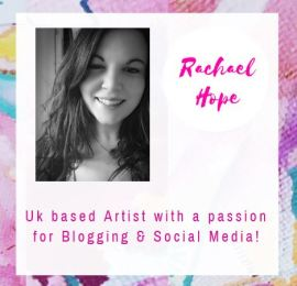 Hey!! My name is Rachael Hope and I'm an artist, blogger and social media enthusiast! Please enjoy your time in my humble virtual abode.