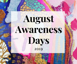 Social Media Awareness Days for August 2019