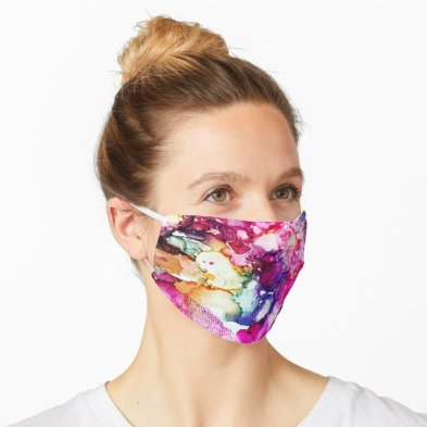 Are you looking for a face mask that makes a statement? Wearing a face covering during these strange times is recommended, but it doesn't have to be a total drag. Make being sensible fun again with this trendy and eye-catching face mask. #facecoverings #facemasks #boldfashion
