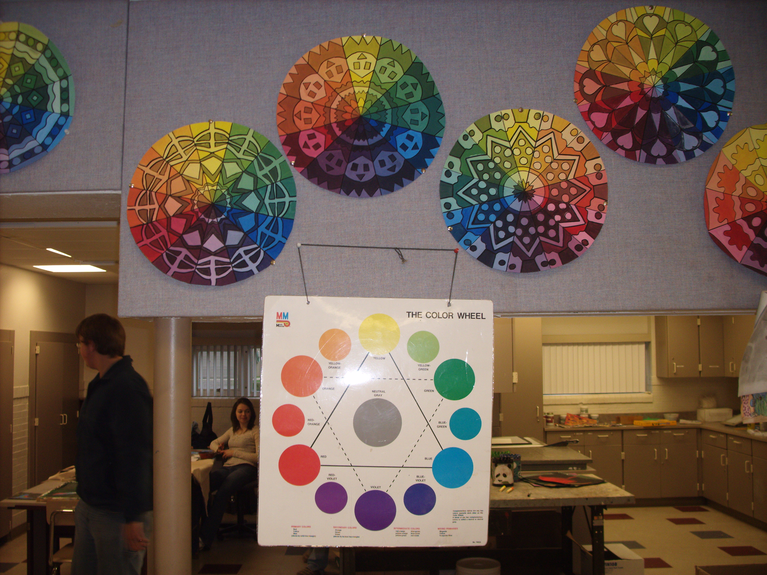 Art I Color Wheel Project