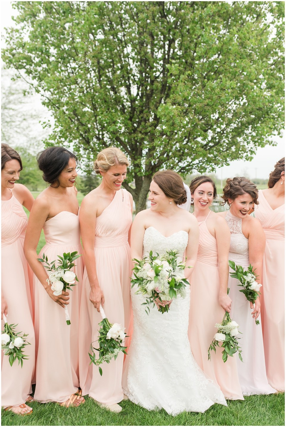 Simple Blush Barn Wedding at Crago Farms Columbus Ohio by Rachael Leigh Photography