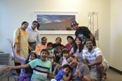Sangeet's birthday in the hospital