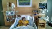 In ICU before the ventiltor