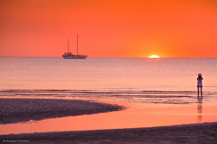 This photograph was taken at Mindil Beach in Darwin, Australia. Photography by Racheal Christain at rachealchristianphotography.com