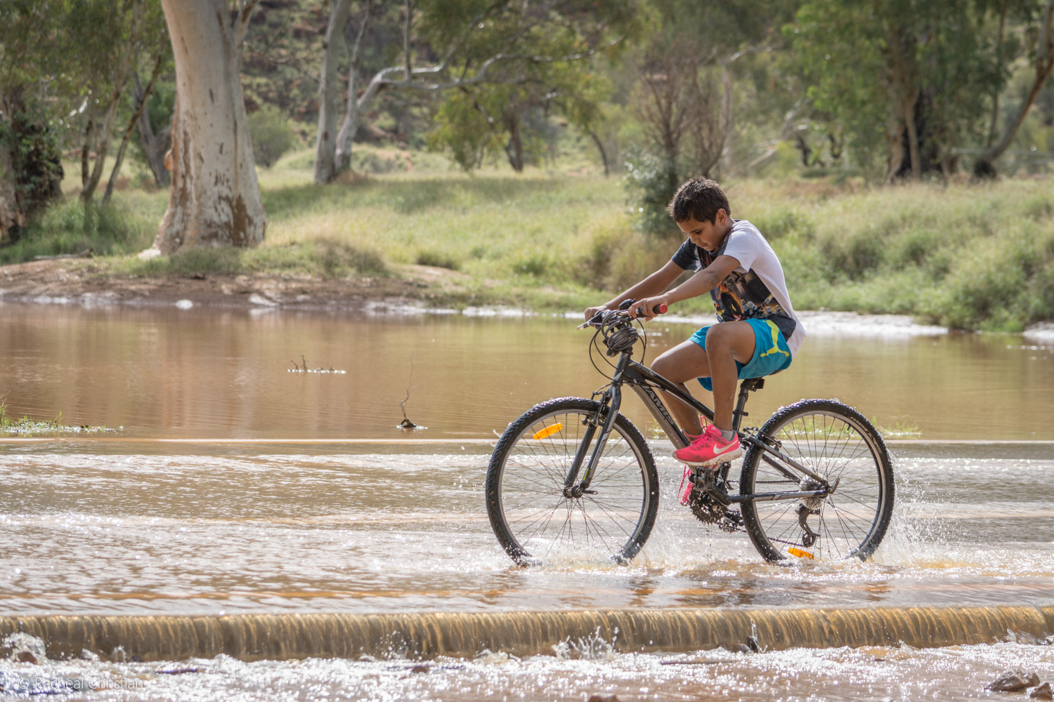 Todd River Begins To Flow