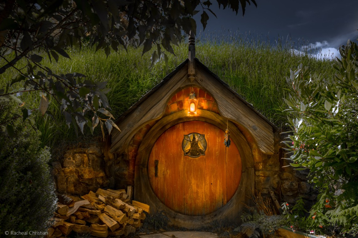 Hobbit Dwelling - Hobbiton by Racheal Christian -