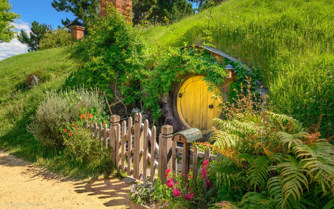 Little Yellow Door - Hobbiton by Racheal Christian -