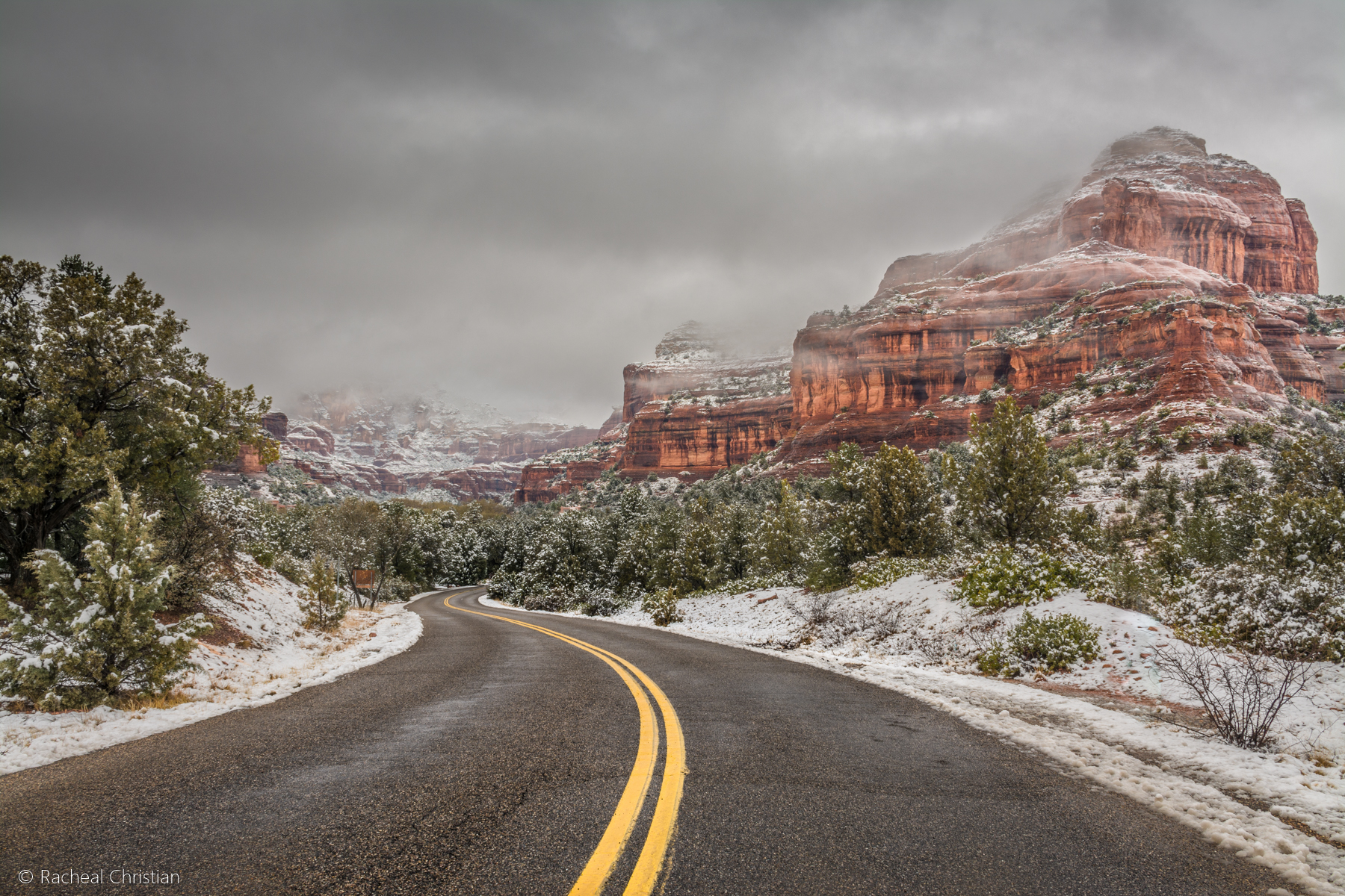 My First Time Photographing Sedona In Winter | Arizona by Racheal Christian