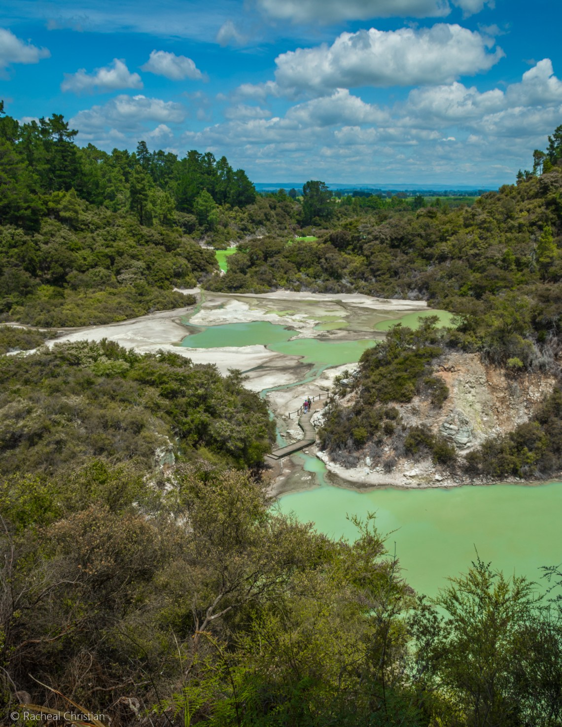 Wai-O-Tapu Thermal Wonderland |Rotorua, New Zealand by Racheal Christian