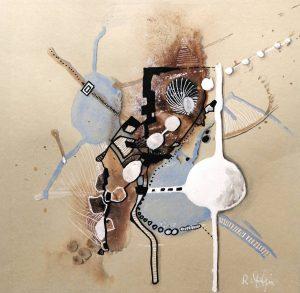 N°7 Acrylique sur papier