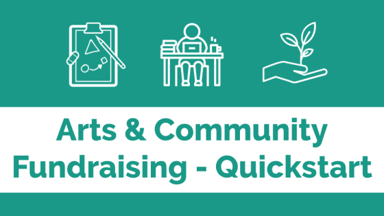 Arts & community fundraising