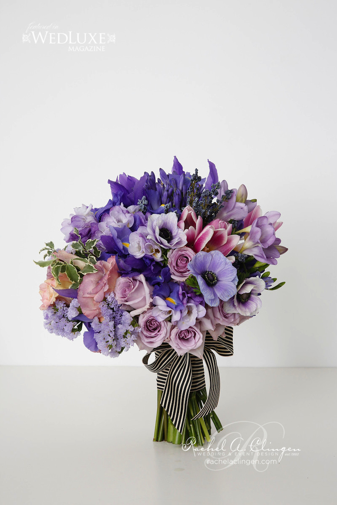 Our Colourful Bouquets For Wedluxe Magazine Rachel A