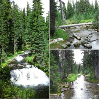 Green Lakes hike before hail