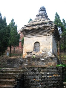 oldest pagoda - monk grave, tang dynasty
