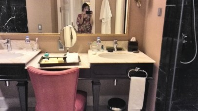 Bathroom at Maxims