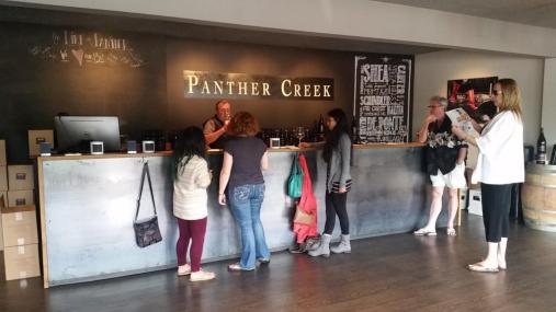 Panther Creek tasting room
