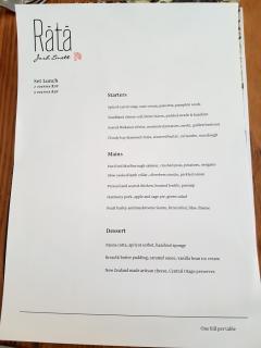 rata-menu