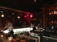 Bar area at Maison, Costa Mesa, CA. 3/13/2015.