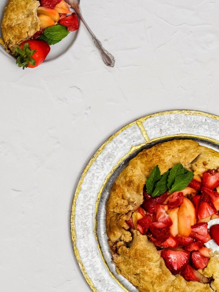 Strawberry and Apple Cinnamon Galette