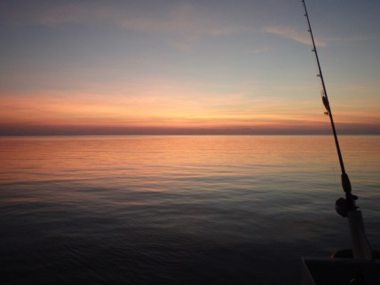 Here's to calm seas and beautiful sunsets...