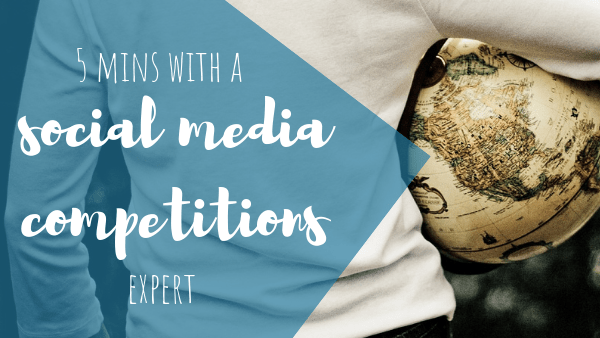 5 Minutes With: A Social Media Competition Expert