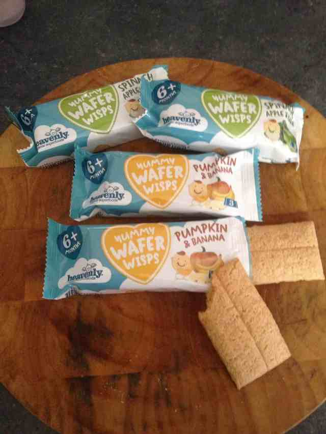 Individual packets of wafer wisps - Rachel Bustin