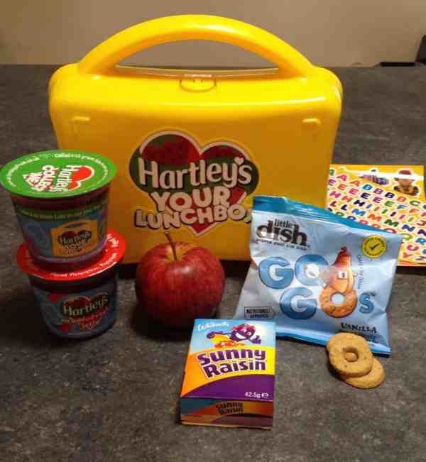 Tips on a Healthy Kids Lunch with Hartleys Your Lunch Challenge - Rachel Bustin