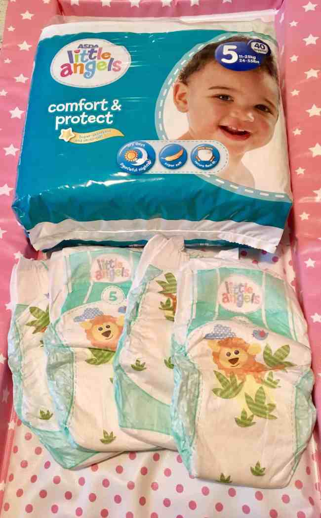 Little Angels Comfort & Protect Nappies