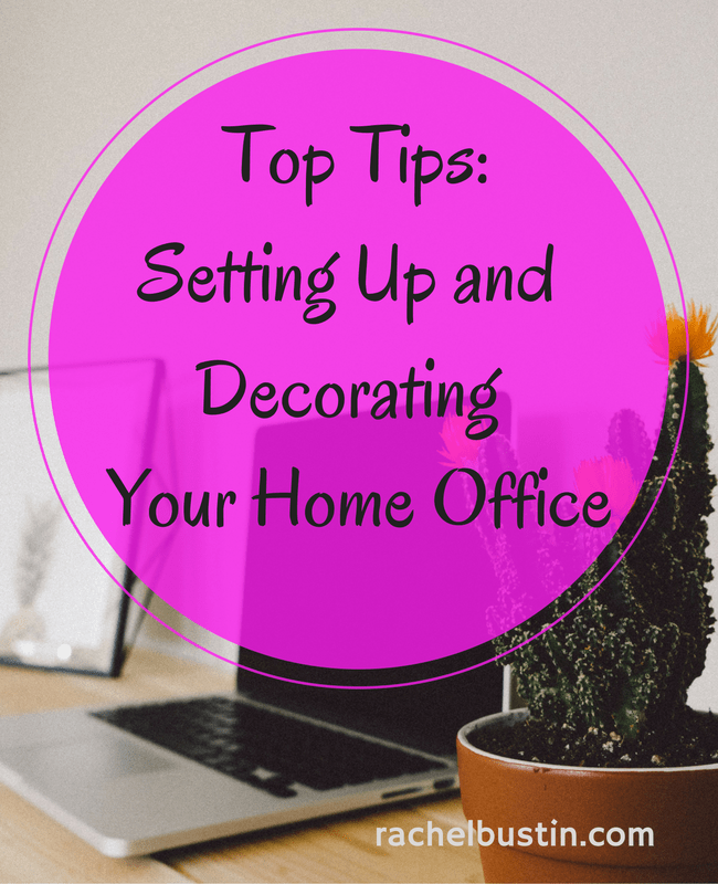 Tips For Redecorating Your Home Office: Top Tips For Setting Up And Decorating A Home Office