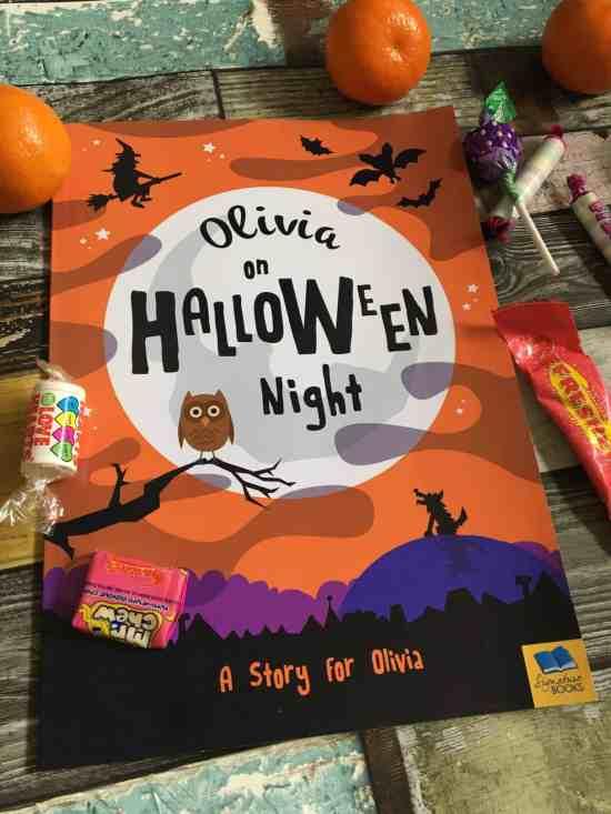 Olivia on Halloween Night - Book