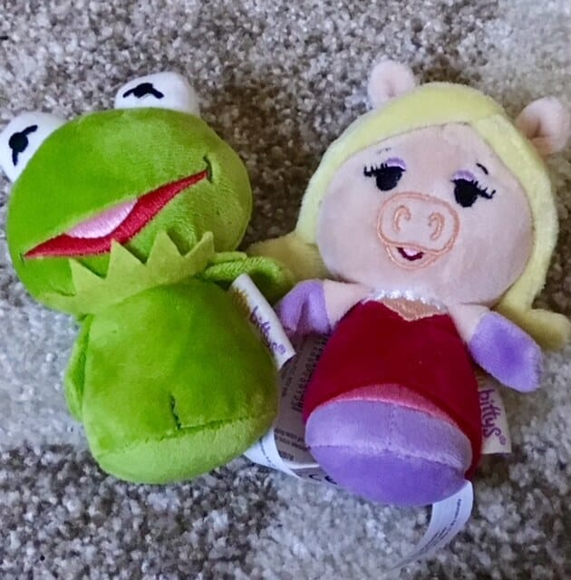 Miss Piggy and kermit itty bitty's
