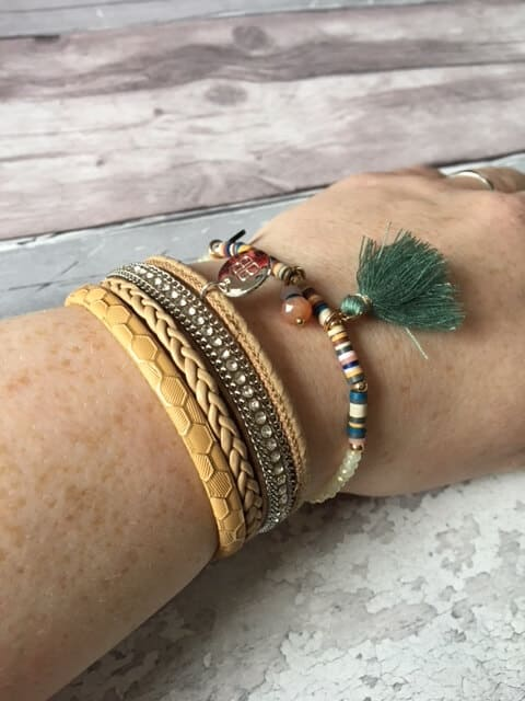 Boho Betty Silver Magnetic Bracelet