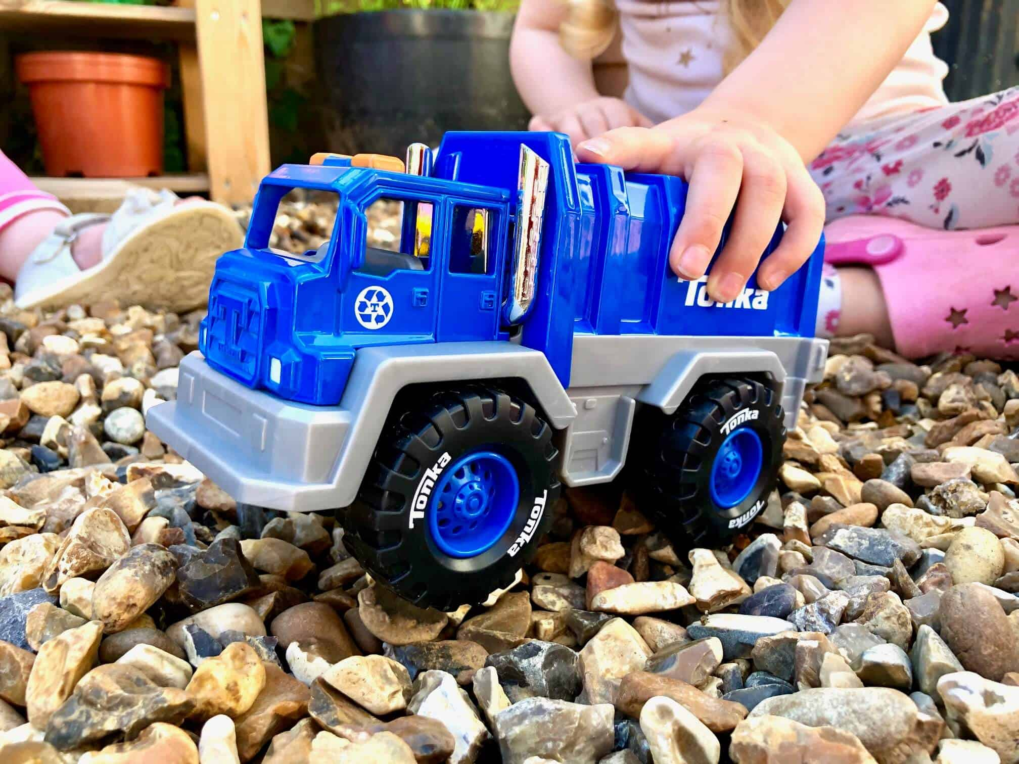 Blue Garbage Truck - Tonka Trucks