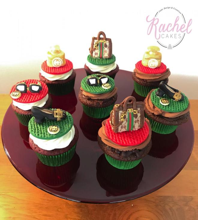 Assorted Gucci Cupcakes