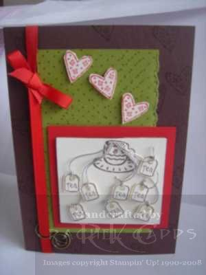 Kitchen Tea card