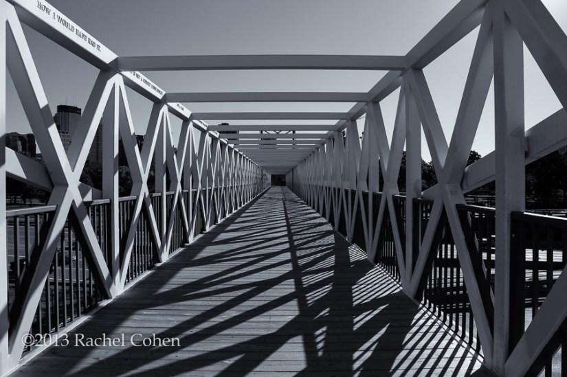 """Irene Hixon Whitney Bridge""  Minneapolis MN."