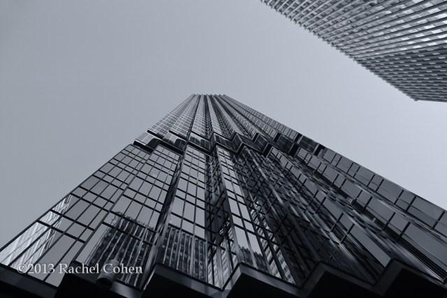"""IDS Tower Reflections"" mono"