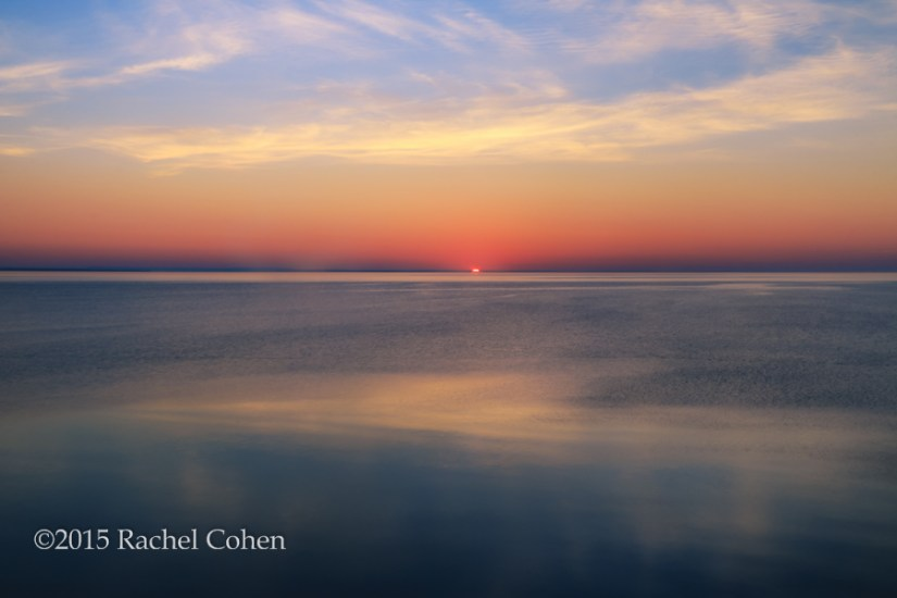 """Dawn's First Light"" A Soothing and peaceful sunrise on Lake Huron!"