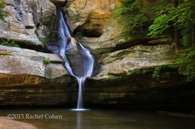 """""""Beautiful Cedar Falls"""" I had the opportunity to go to Hocking Hills in Hocking County Ohio this summer. The many waterfalls in the location and the amazing rock formations were wonderful! The summer was a dry one, so the water flow wasn't as strong as I would have liked, but it was beautiful to me anyway!"""