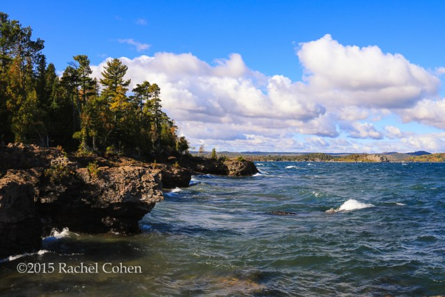 """""""One Very Fine Day"""" This was a fabulous day in Marquette Michigan on Presque Isle Park!"""