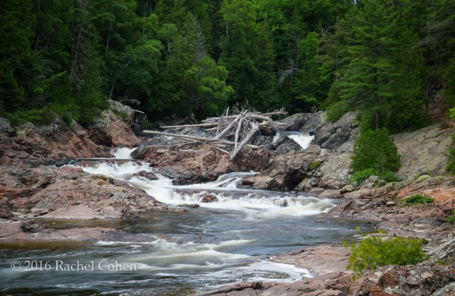 """Chippewa Falls and River"" A summertime view of Chippewa Falls in Ontario, Canada!"
