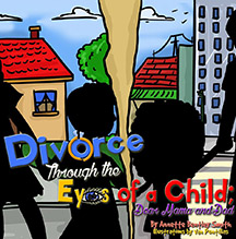 Cover of Divorce Through the Eyes of a Child